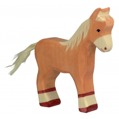Holztiger Light Brown Standing Foal