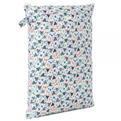 Baba + Boo Large Nappy Bag - Elf town