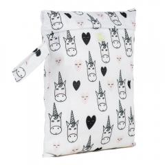 Baba + Boo Small Nappy Bag - Unicorns