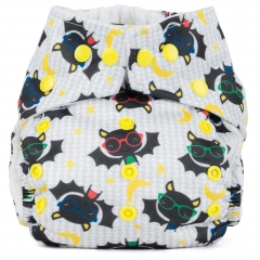 Baba + Boo One-Size Nappy - Bats