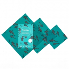 BeeBee Mixed Beeswax Wraps Pack
