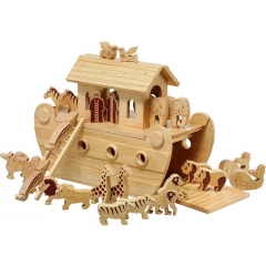 Lanka Kade Deluxe Noah's Ark & 24 Natural Characters
