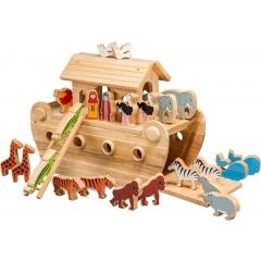 Lanka Kade Deluxe Noah's Ark & 24 Coloured Characters