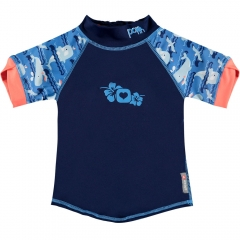 Pop-In Rash Vest Whale