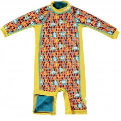 Pop-In Toddler Snug Swim Suit Monkey