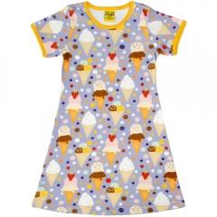 DUNS Adult Ice Cream Lavender A-Line SS Dress