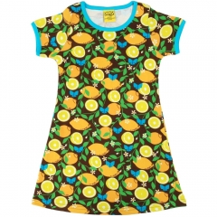 DUNS Adult Lemon A-Line SS Dress
