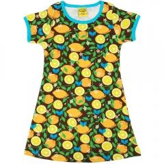 DUNS Adult Lemon A-Line SS Dress