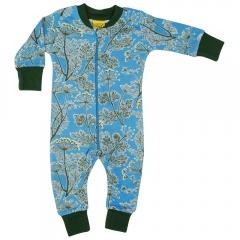 DUNS Blue Dill Zip Suit