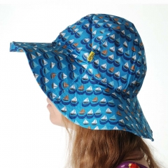 DUNS Blue Sailing Boats Sun Hat