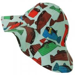 DUNS Minty Blue Fugo Sun Hat