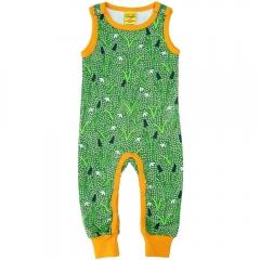DUNS Green Snowdrop Zip Suit