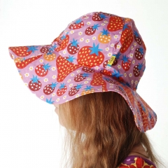 DUNS Purple Strawberry Field Sun Hat