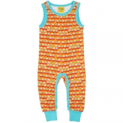 DUNS Orange Sailing Boats Dungarees