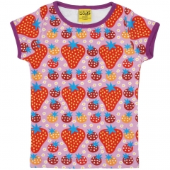 DUNS Purple Strawberry Field SS Top