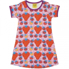 DUNS Purple Strawberry Field SS Dress