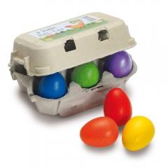 Erzi Six Coloured Eggs