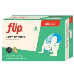 Flip Stay-Dry Nappy Inserts x3