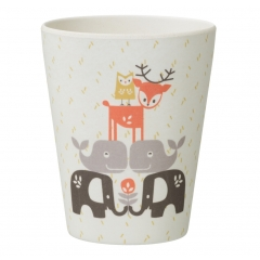 Fresk Forest Animals Bamboo Cup