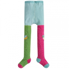 Frugi Finches Fun Knee Tights