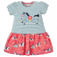 Frugi Little Laura Horse Dress