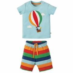 Frugi Little Perran Hot Air Balloon PJs