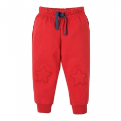 Frugi Tomato Playtime Kneepatch Crawlers