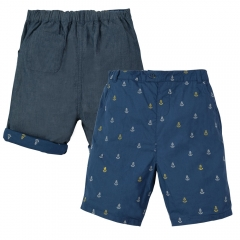 Frugi Anchor Reversible Ralph Shorts
