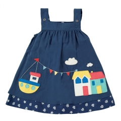Frugi Reversible Rosemary Harbour Dress