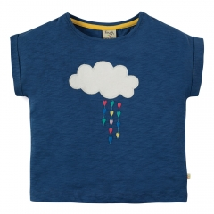Frugi Cloud Sophia Slub T-Shirt