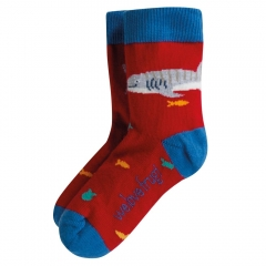 Frugi Whale Shark Perfect Pair Whale Shark Socks