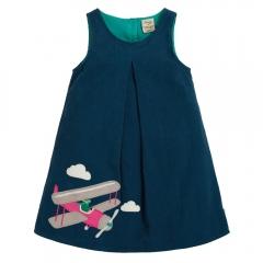Frugi Pilot Amber Applique Dress