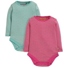 Frugi Pointelle Body 2 Pack