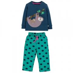 Frugi Sloth Lou Pyjamas