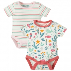 Frugi Bailey Mermaid Bodies x2