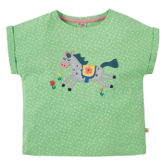 Frugi Horse Bella Boxy T-Shirt