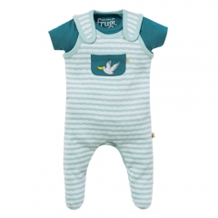 Frugi Blue Stripe Pelican Summer Gift Set