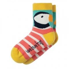 Frugi Puffin Perfect Pair Socks