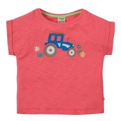 Frugi Tractor Sophia Slub T-Shirt