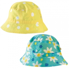 Frugi Daffodil Days Hayley Reversible Hat