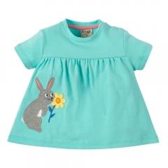 Frugi Rabbit Eva Applique Top