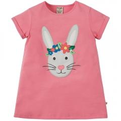 Frugi Sophie Applique Rabbit Top
