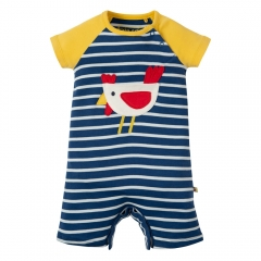 Frugi Chicken Ray Raglan Romper