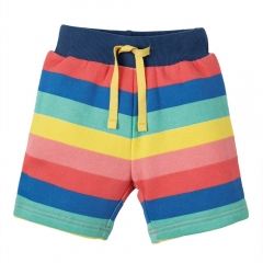 Frugi Rainbow Stripe Little Sydney Shorts