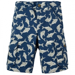 Frugi Scilly Shark School Explorer Shorts