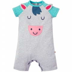 Frugi Smiley Pony Summer Romper