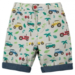 Frugi Tropical Tresco Reuben Reversible Shorts