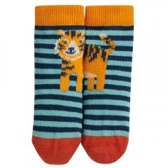 Frugi Tiger Perfect Pair Little Socks