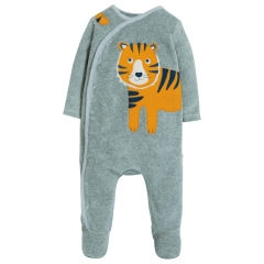 Frugi Tiger Stevie Swoop Babygrow
