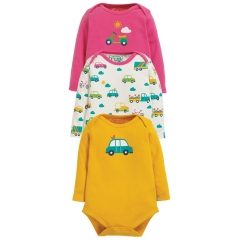 Frugi Transport Super Special Body 3 Pack